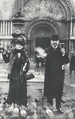 Bertha and William Haas in Venice 1911
