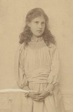 Florine at 9-10years old
