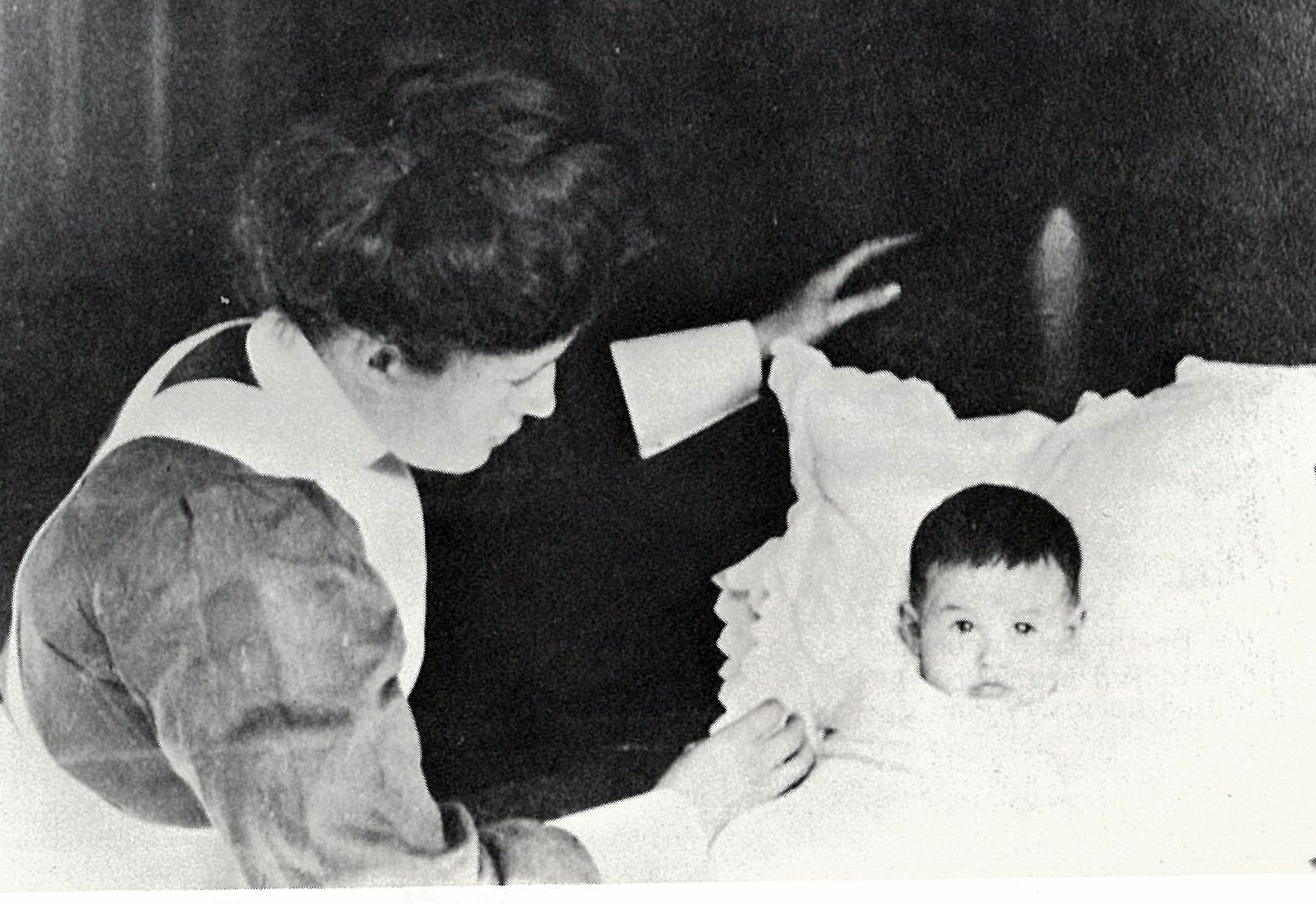 Ernest Lilienthal_Alices first child_and his nurse
