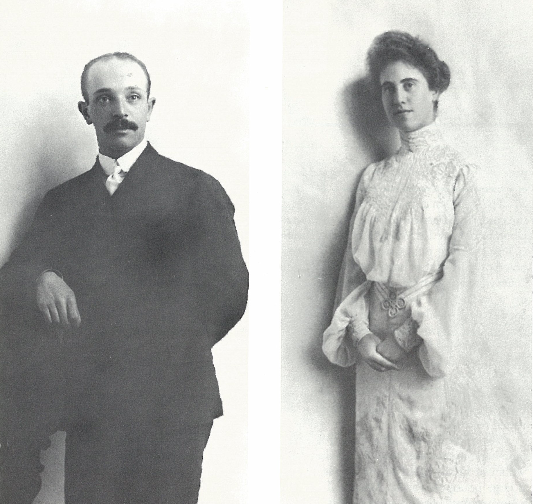 Edward Bransten and Florine Haas