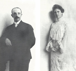 Edward Bransten and Florine Haas