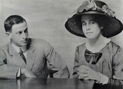 Samuel Lilienthal and Alice Haas engagement photo