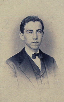 William Haas in his teens