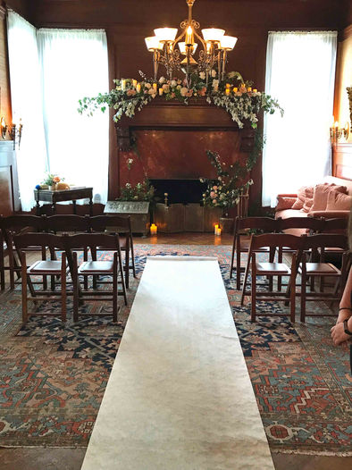 Ceremony in Middle Parlor