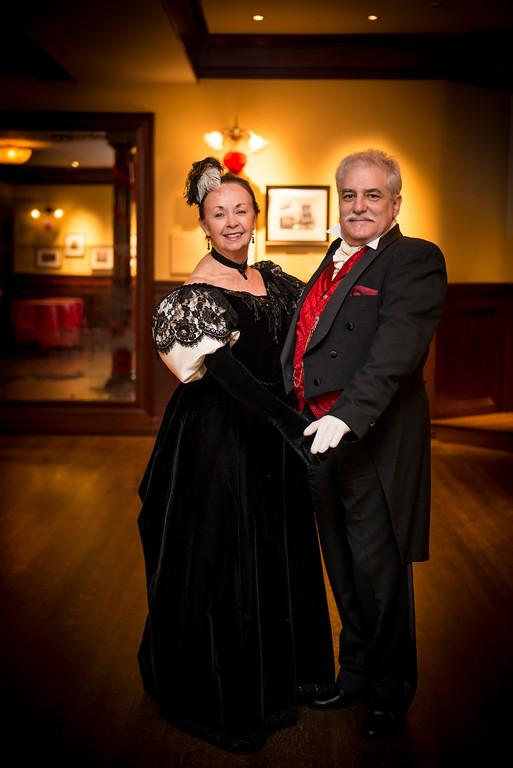 Karen Tierney and Rex Caliber