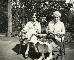 Alice and Bertha Greenbaum Haas
