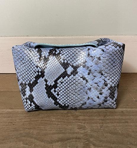 MINI BOX  blue python print