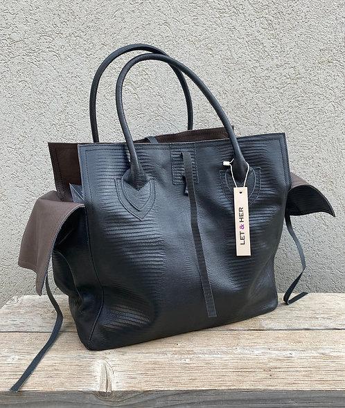 MEDIUM BAG  Fantasy Black