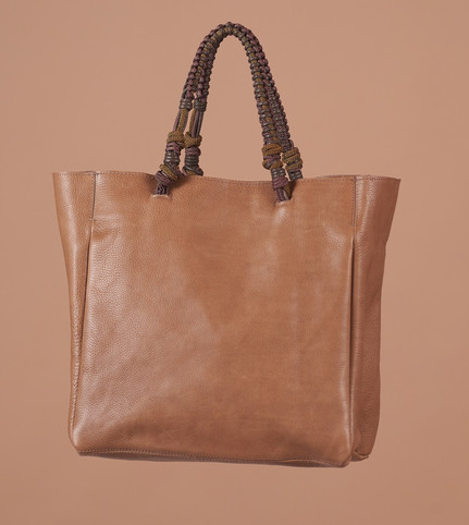 TAUPE  ,  HANDLE 1 BRONZE BROWN
