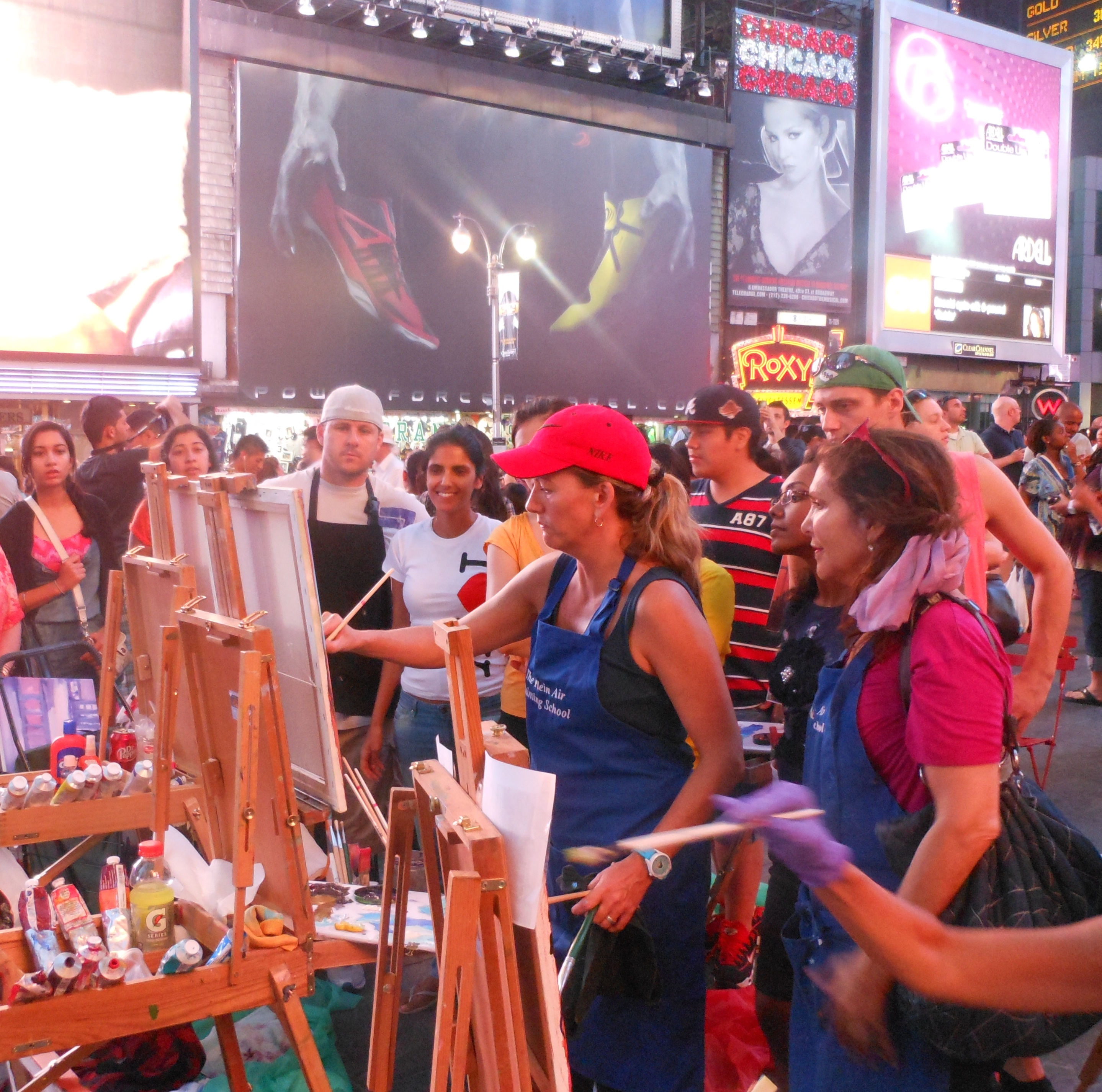 Times Square Painting Workshop