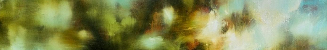 Danielle Hatherley atmospheric landscape painting.