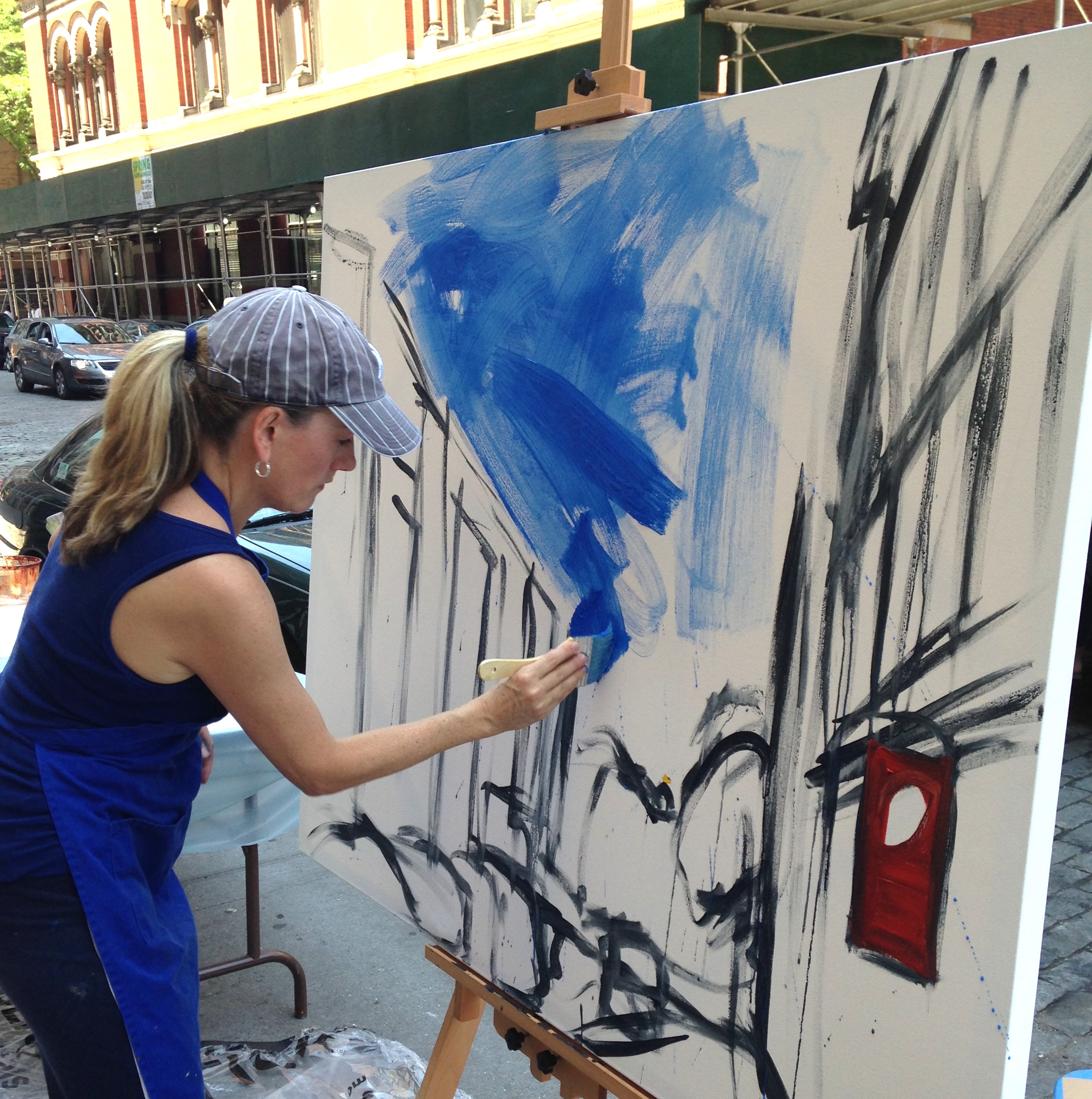 Blick Painting Event, NYC