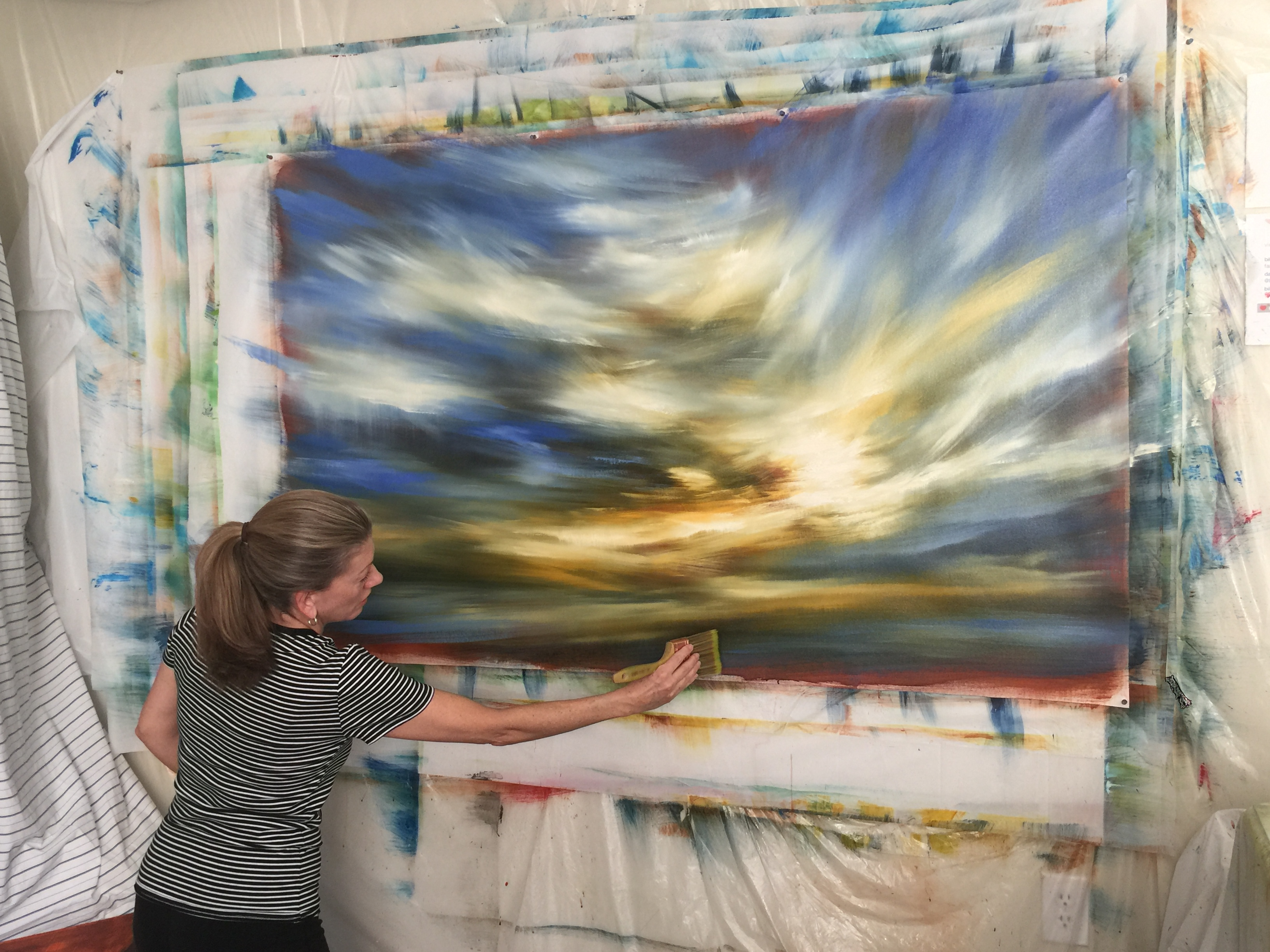 Studio Work - 'Colorado Sky'