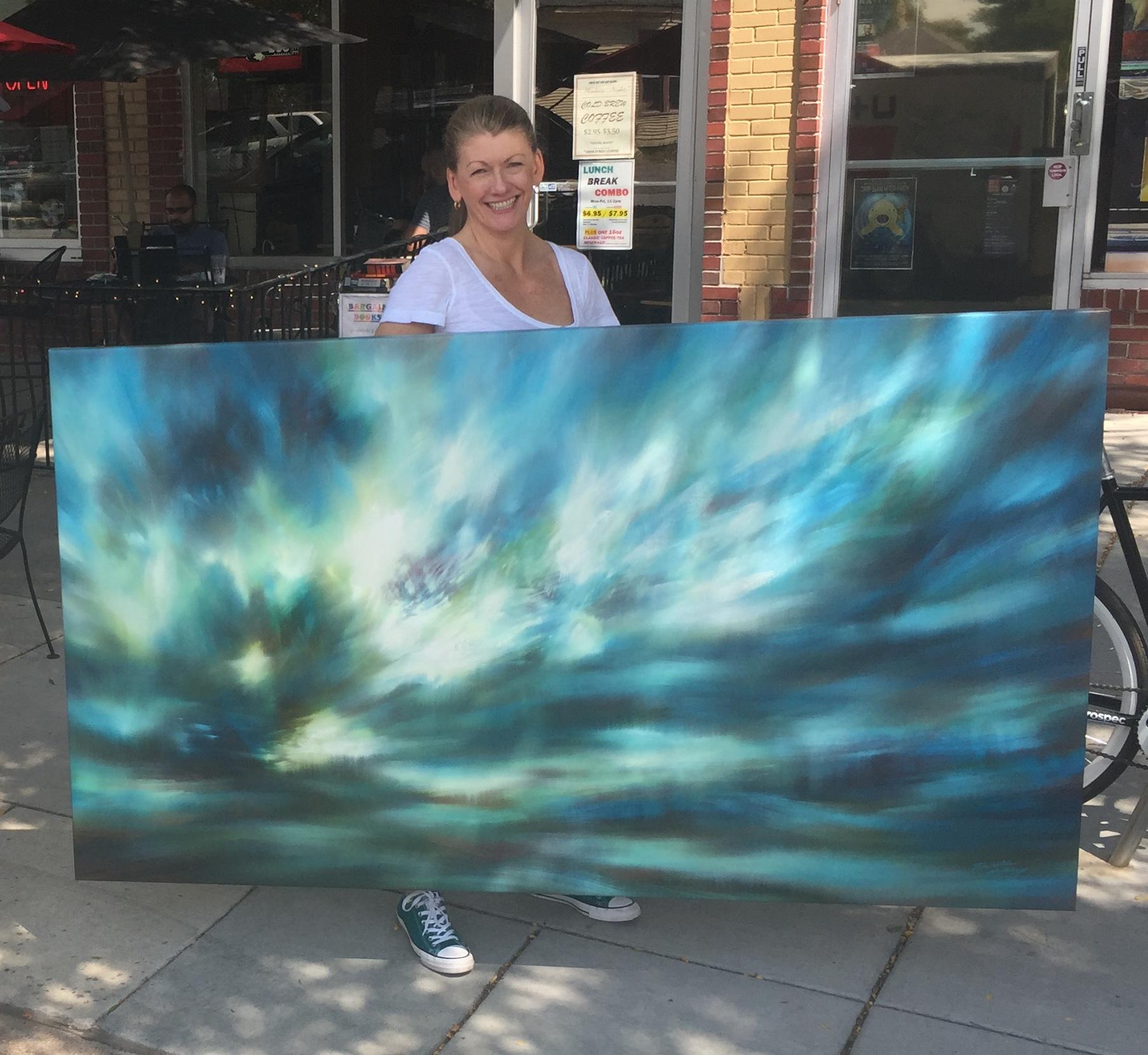 Delivering Paintings in Denver