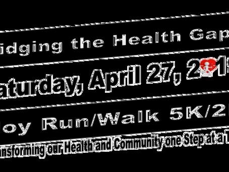 Bridging the Gap Joy Run Walk Gearing Up!