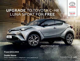 Toyota Dealer Ad