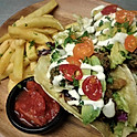Fried Broccoli Tacos
