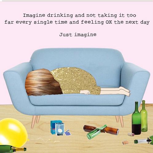 Just Imagine Card