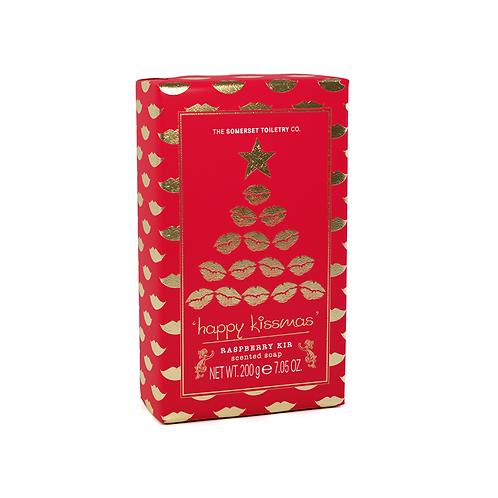Happy Kissmas Soap – Raspberry Kir