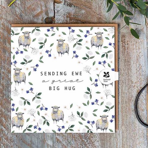 Sending Ewe a Great Big Hug (Sheep Pure) Cello-Free