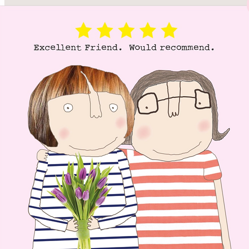 Five Star Friend Card