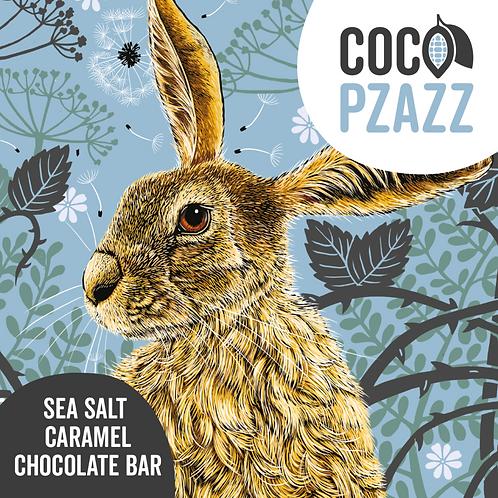 Fox & Boo's Sea Salt Caramel Chocolate Bar 80g