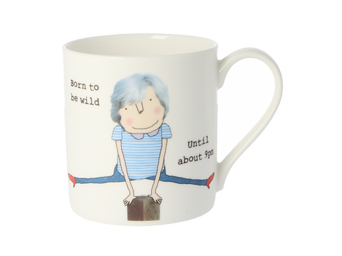 Rosie Made A Thing Born To Be Wild Mug