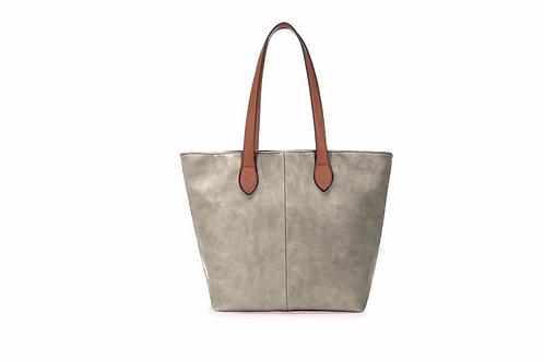 Chelsea Bag-Silver/Grey