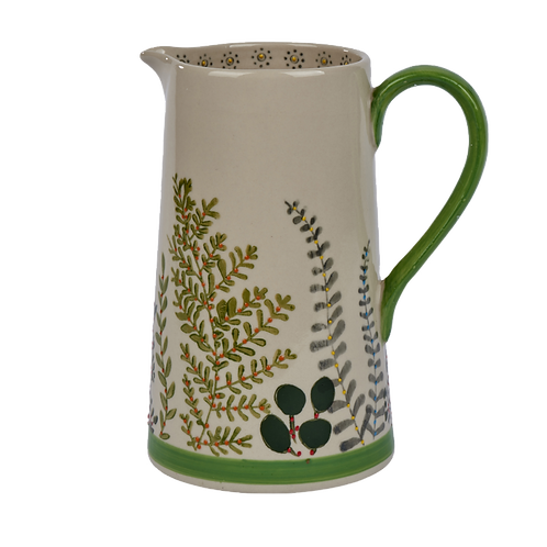 BOTANICAL LEAF JUG