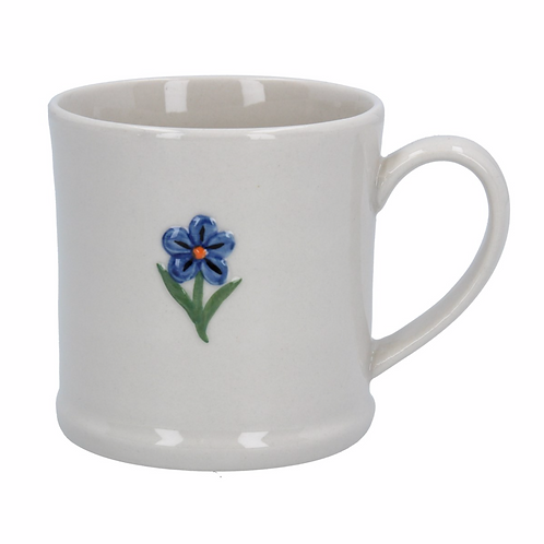 Ceramic Mini Mug - Forget Me Not/Ladybird