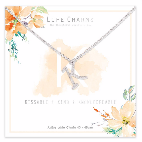 K is for...Necklace