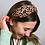 Thumbnail: Tan and black abstract animal print headband