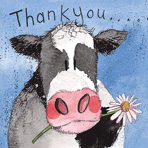 Dairy Cow Thank You Card