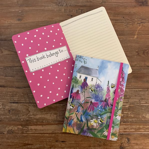 Bee Garden Large Chunky Notebook