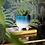 Thumbnail: MOJAVE GLAZE BLUE LARGE PLANTER ON LEGS