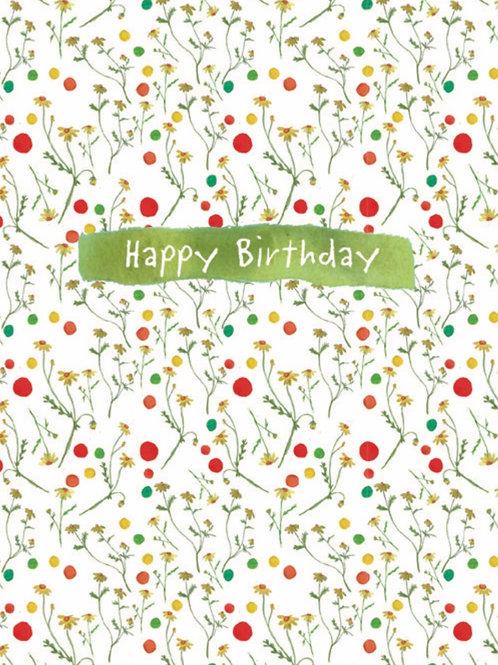Happy Birthday Plantable Seed Card