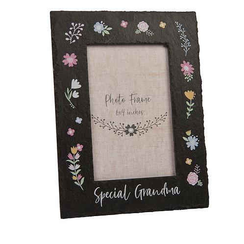 Special Grandma Slate Frame