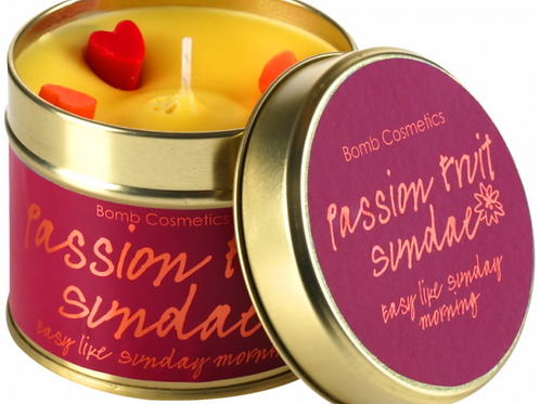Passion Fruit Sundae Tin Candle