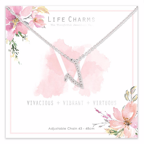 V is for...Necklace
