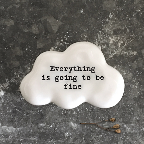 Cloud token-Everything is going to be fine