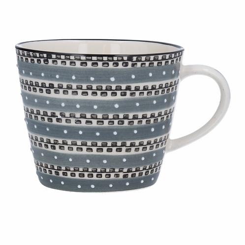 Ceramic Mug - Track/Grey