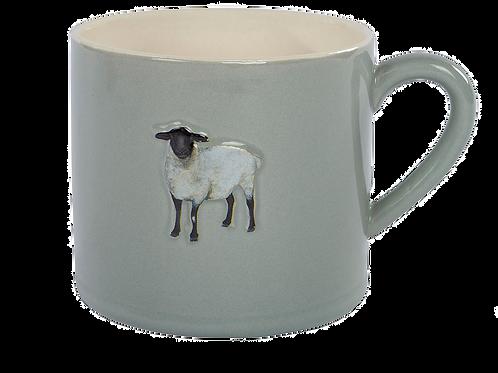 Sheep Embossed Mug