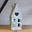Thumbnail: DAINTY GREY HOUSE T-LIGHT HOLDER, 16.5CM