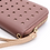 Thumbnail: Dusky pink purse with rose gold stars