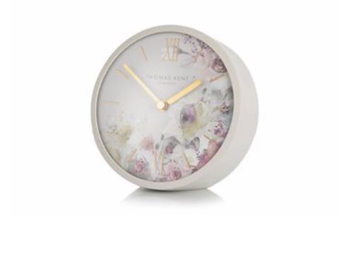 """5"""" Crofter Mantel Clock Light Grey"""