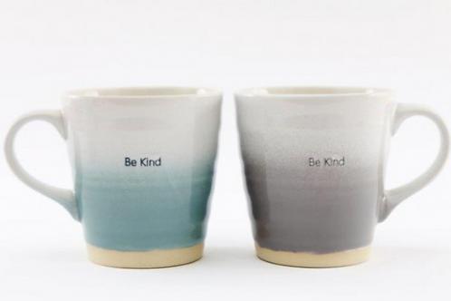 Be Kind Embossed Mug