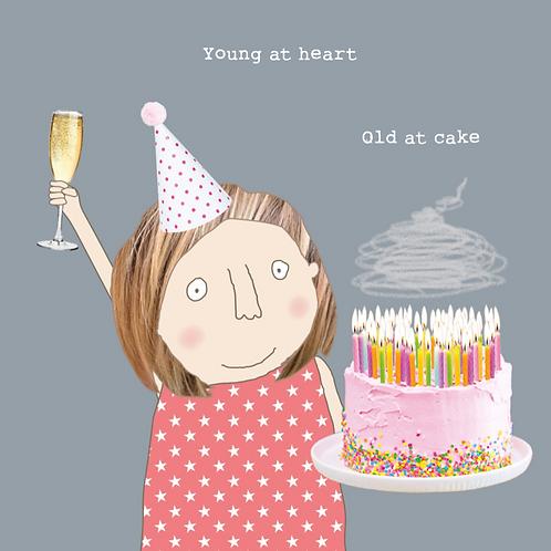 Old at Cake Girl