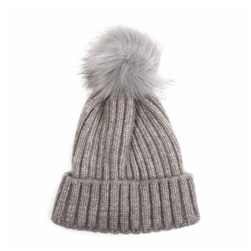 Pom Hat-Silver