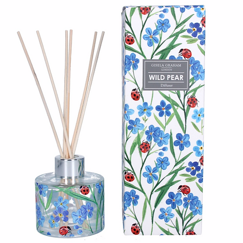 Wild Pear w/Forget Me Not/Ladybird Diffuser