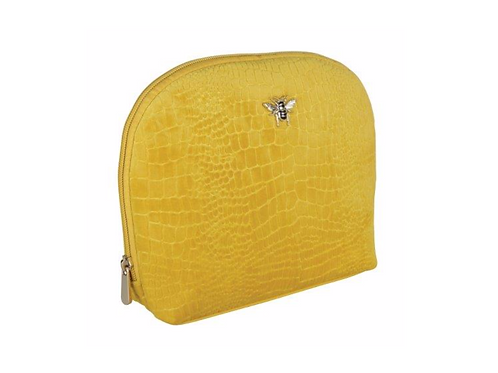Velvet Mustard Bee Beauty Case